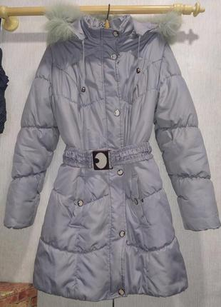 Пальто-куртка дутая женская