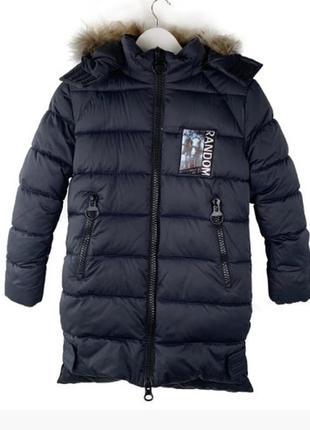 Зимняя куртка на подростка 12-16 лет. размеры 146-170
