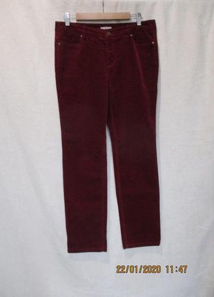 Вельветовые стрейчевые штаны/микрвельвет