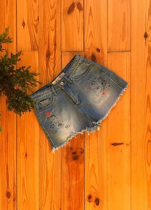 Короткие джинсовые шорты деним denim co. 12/40/l. нюансик