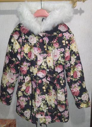 Куртка, парка зимняя женская