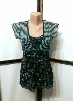 Топ блуза блузка футболка сеточка бренд mexx