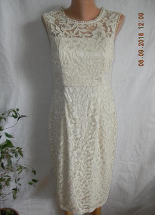 Нежное кружевное платье bonmarche