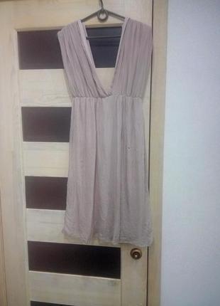 Шелк платье
