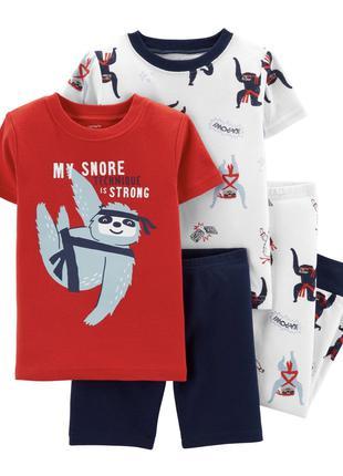 Комплект пижам Carter's p-р 24 месяца и 2, 4 и 5 лет