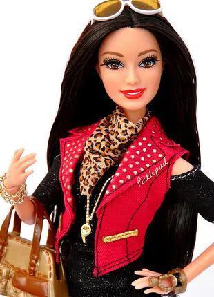 Barbie Style Deluxe Модница Делюкс Ракель в красном жилете