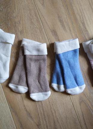 Детские теплые носочки 2 пары lidl lupilu германия (19/22)