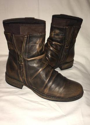 Ботинки кожа германия р.38 ( 25.30 см)