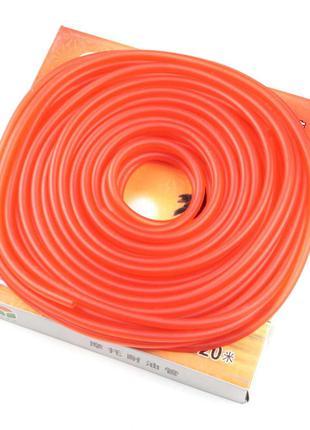 Шланг топливный Ø4мм, 20 метров (силиконовый, красный) ZUNA (m...