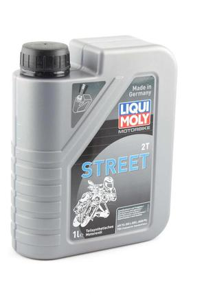 Масло 2Т Двухтактное, 1л (полусинтетика, STREET) LIQUI MOLY #3981