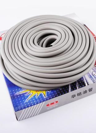 Шланг топливный Ø4мм, 20 метров (резиновый, серый)