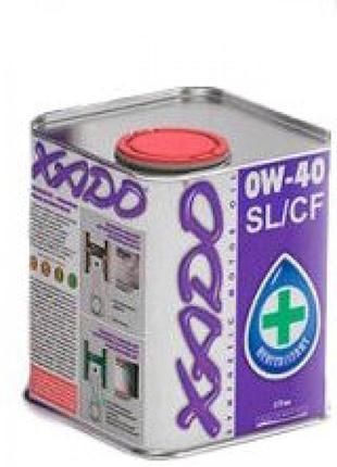 Масло автомобильное 1л (синтетика, 0W-40SL/CF Atomic Oil) (201...