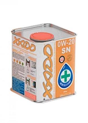 Масло автомобильное 1л (синтетика, 0W-20SN Atomic Oil, API SN/...