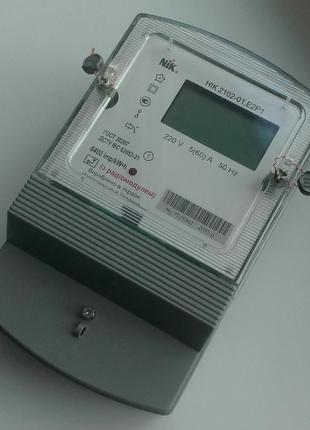 Електролічильник Электросчетчик однофазный электронный НИК 2102-0