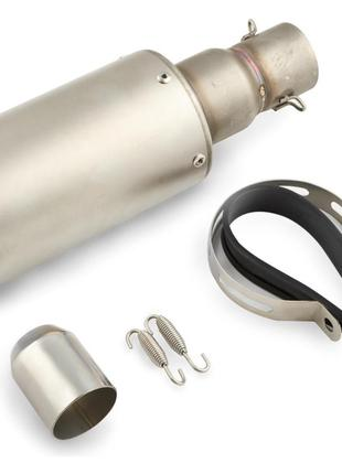 Глушитель (Выхлопная труба) (тюнинг) 325*100мм (нержавейка, ов...