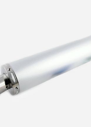 Глушитель (Выхлопная труба) (тюнинг) 420*100мм, креп. Ø78мм (н...