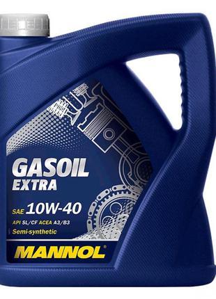 Масло автомобильное, 4л (SAE 10W-40, полусинтетика, Gasoil Ext...