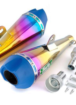 Глушитель (Выхлопная труба) (тюнинг) 340мм (нержавейка, сопло,...