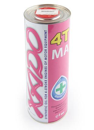 Масло 4Т Четырехтактное, 1л (синтетика, 10W-60 4T MA, Atomic O...