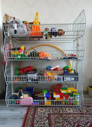 Органайзер - корзины для хранения игрушек.