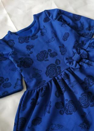 Комфортное платье для девочки в сад