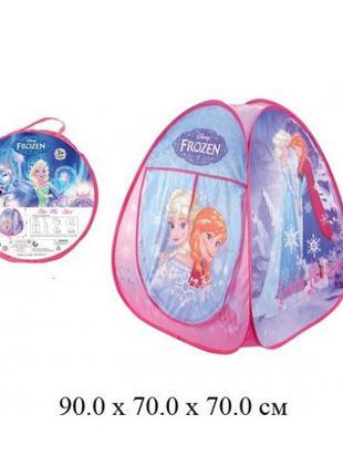Детская палатка Frozen HF017, фрозен, холодное сердце, ельза