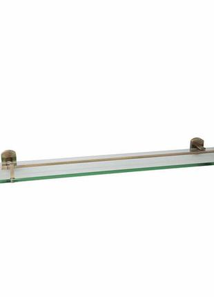 Стеклянная полочка для ванной комнаты из латуни qt 55х600х140 ...