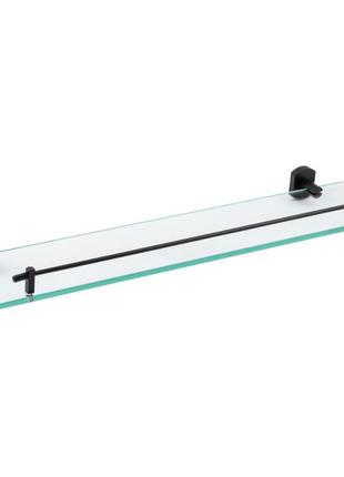 Стеклянная полочка в ванную комнату из латуни qt 65х600х140 мм...