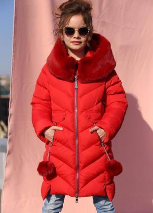 Супер модное зимнее пальто для девочек ясмин фирмы nui very ра...