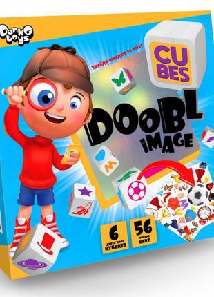 """Настольная развлекательная игра """"Doobl Image Cubes"""" DBI-04-01U..."""