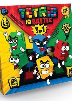 "Развивающая игра ""Tetris IQ battle 3in1"", рус"