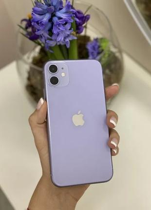 Apple iPhone 11 64GB Purple. Neverlock. Б/у