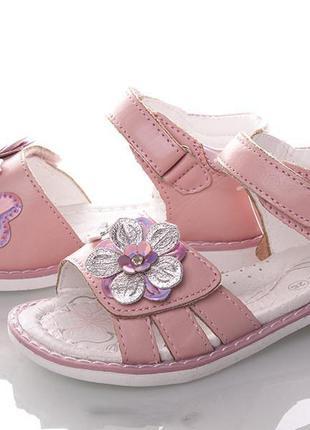 Детские босоножки для девочек tm clibee