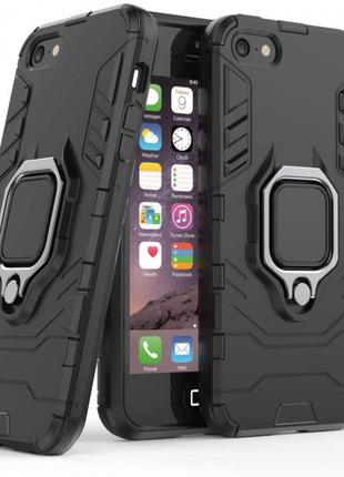 Чехол / бампер Iron Ring противоударный на iPhone 5 / 5S / SE / 6