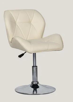 Парикмахерское кресло HC111N кремовый