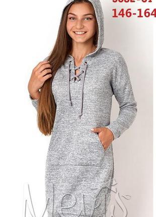 Платье туника для девочек подростков tm mevis 3082 размеры 146...