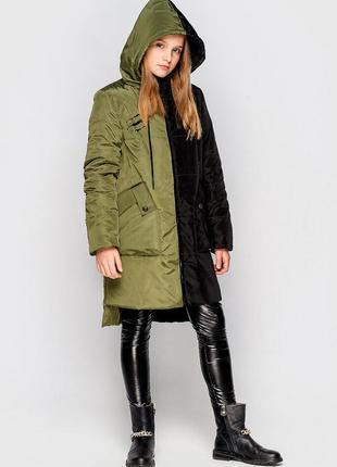 Куртка- пальто кейли на девочку подростка. тм cvetkov