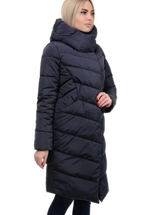 Женское зимнее супермодное пальто одеяло. размеры 42- 52