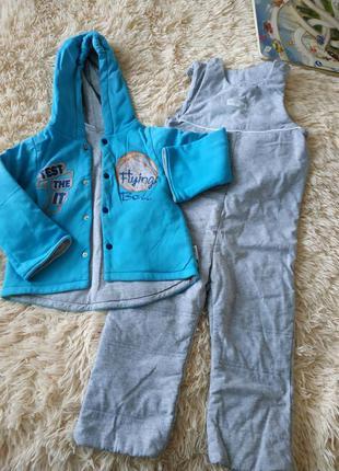 Комбинезон демисезонные ( осень-весна) куртка + комбинезон
