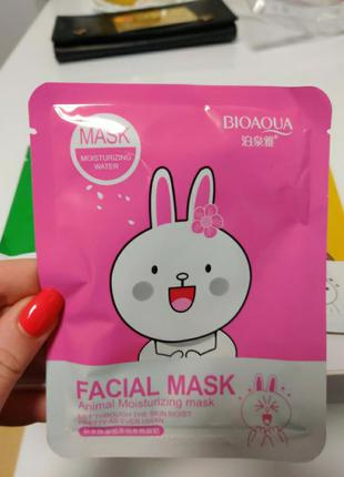 Тканевая маска для лица bioaqua
