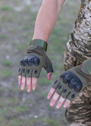 Тактичні рукавиці каучук/перчатки мотоцикл