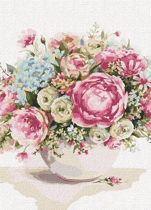 """Картина по номерам """"Изящество цветов"""" ★★★★"""