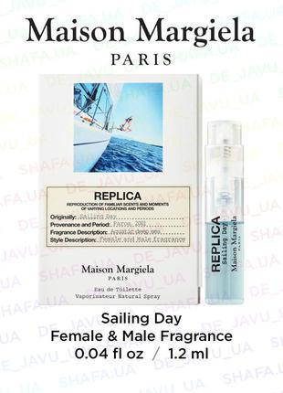 Пробник унисекс парфюма maison martin margila нишевый свежий а...
