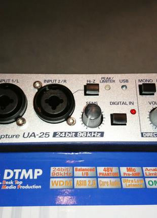 Звуковая карта(аудиоинтерфейс) Edirol(Roland) UA-25