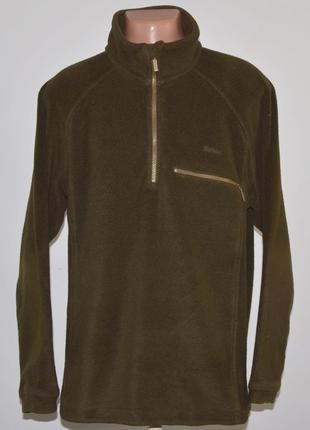 Тёплый флисовый свитер barbour (l) англия