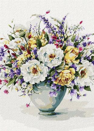 """Картина по номерам """"Гармония цветов"""" ★★★★★"""