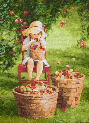 "Картина по номерам ""Яблочки"" ★★★★★"