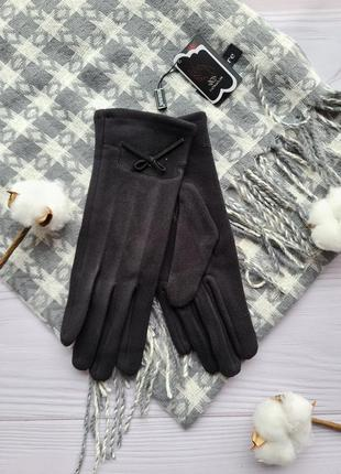 🧤 перчатки черные сенсорные