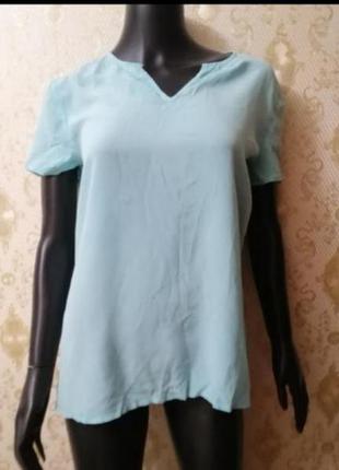 Фирменная шёлковая блуза