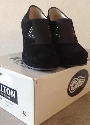 Шикарные туфли ботинки kelton италия оригинал размер 36 по сте...